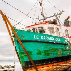 Le qquai de Carleton-sur-Mer